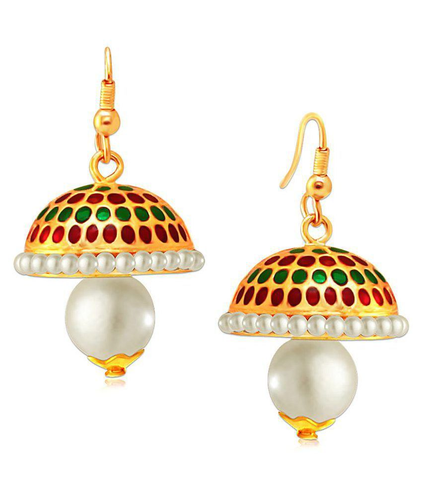 Spargz Multicolor Jhumki Earrings