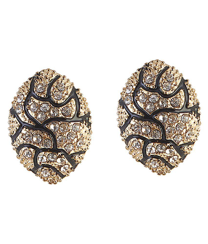 Kriaa Multicolour Stud Earrings