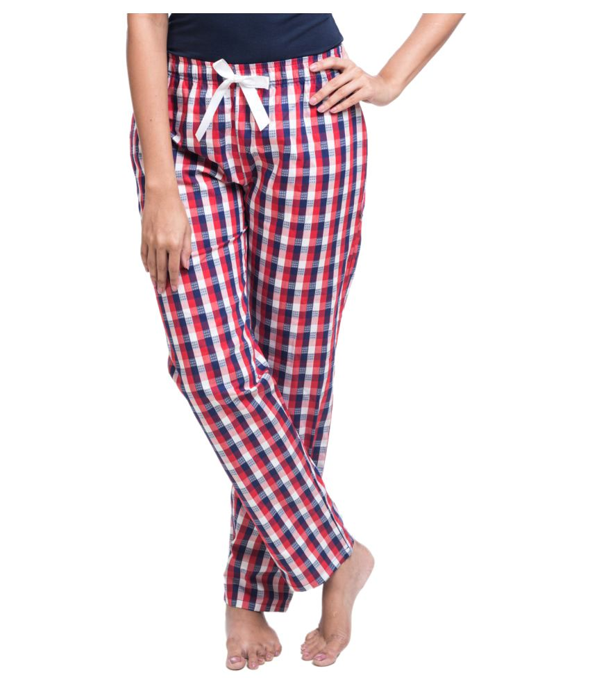 Nite Flite Multi Color Cotton Pajamas
