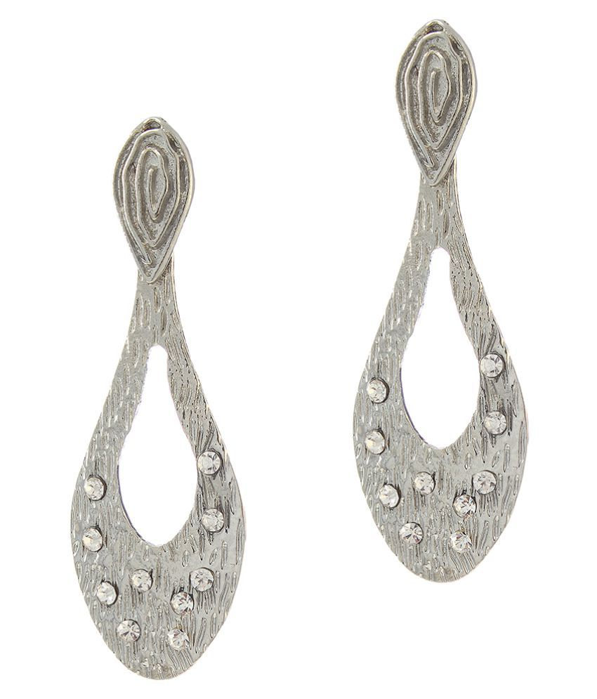 Kriaa Silver Hanging Earrings