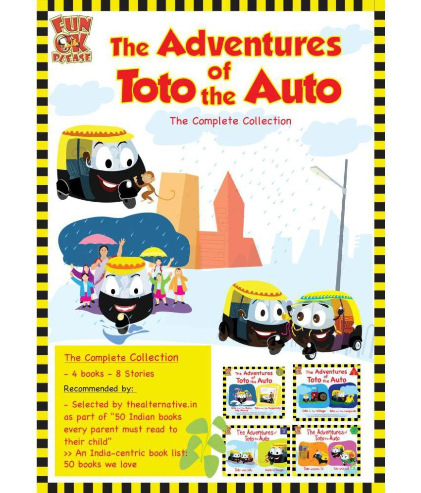 Adventures of Toto the Auto : 4 Story Books for Kids: Buy Adventures ...