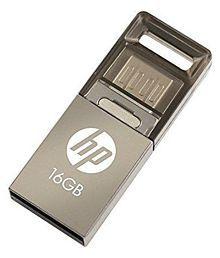 HP V510M V510M 16GB USB 2.0 OTG Pendrive Grey