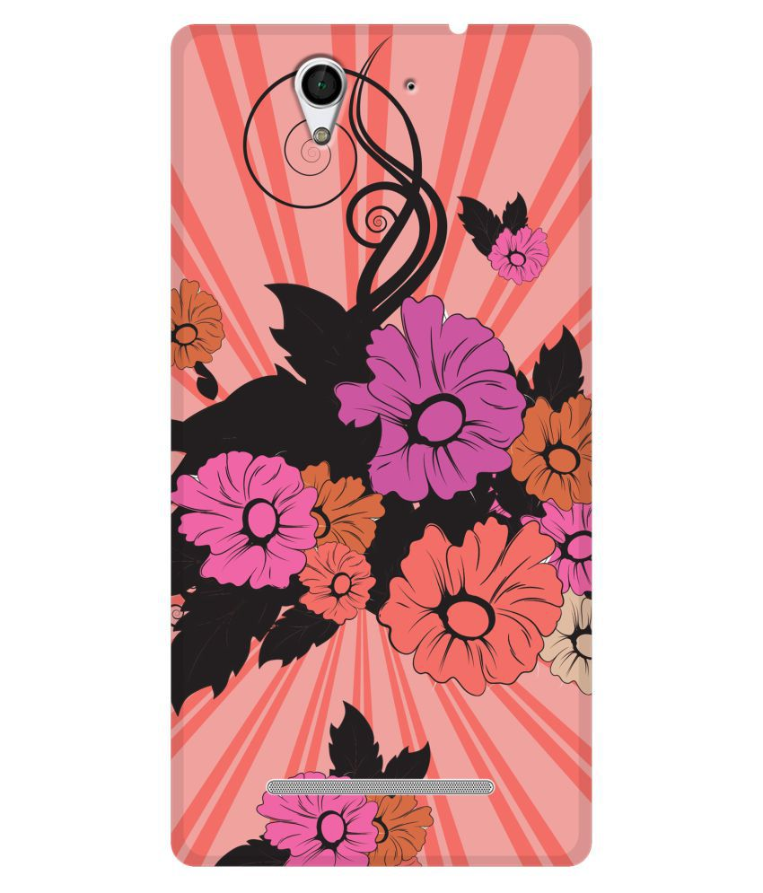 Sony Xperia C3 Printed Cover By SWAGMYCASE