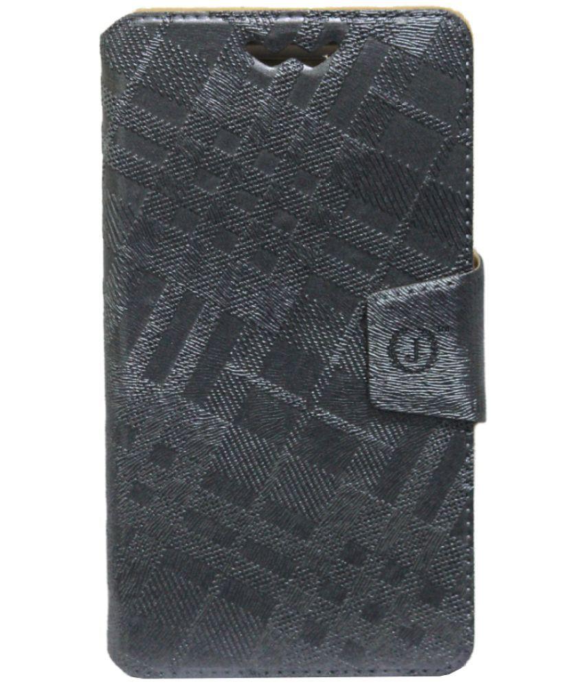 Wickedleak Wammy Titan 5 Flip Cover by Jojo - Grey