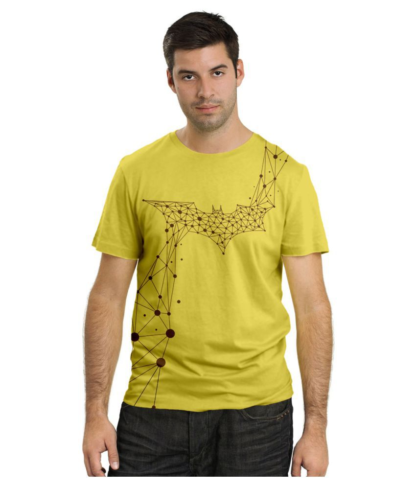 DNA Yellow Round T-Shirt