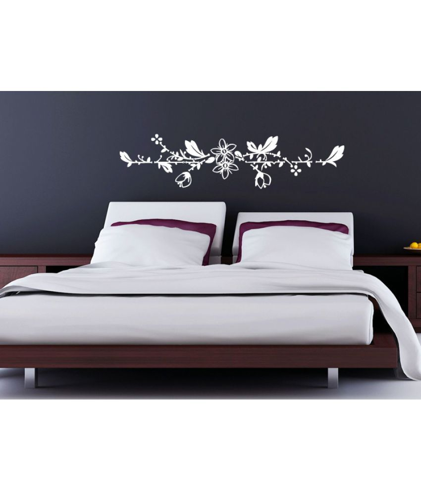 114a78a50 Decor Villa full wall flowers Vinyl Wall Stickers - Buy Decor Villa full  wall flowers Vinyl Wall Stickers Online at Best Prices in India on Snapdeal