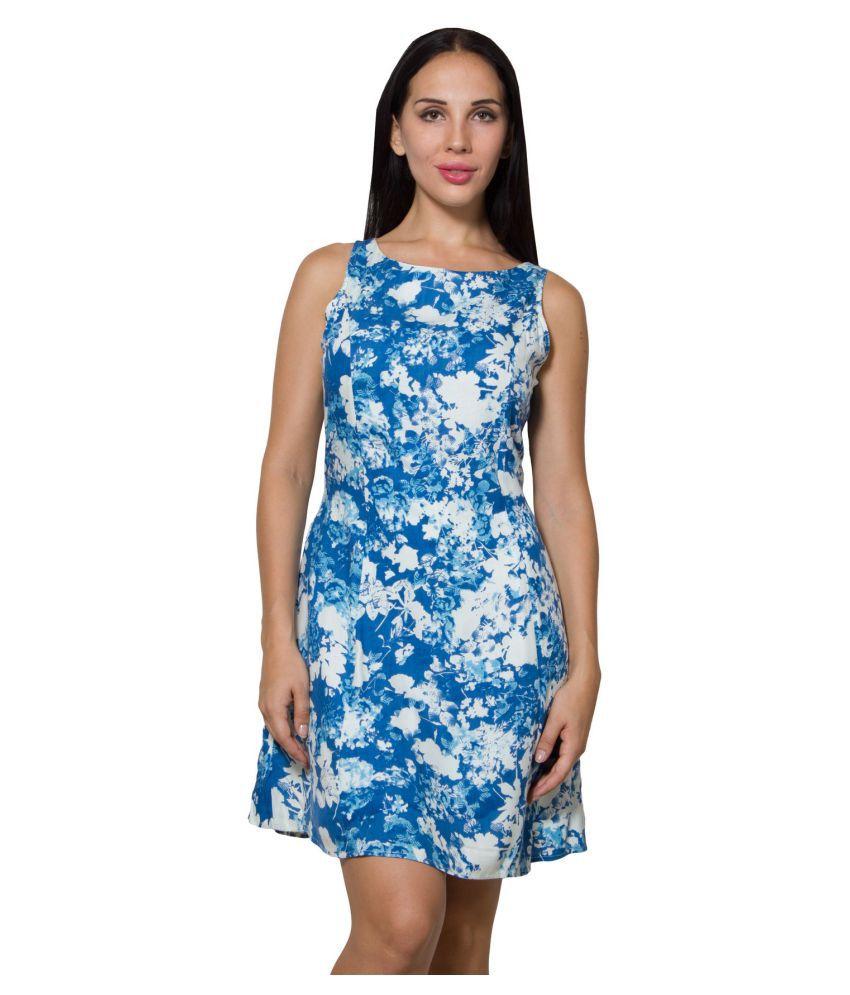 Wintage Multi Color Cotton Dresses