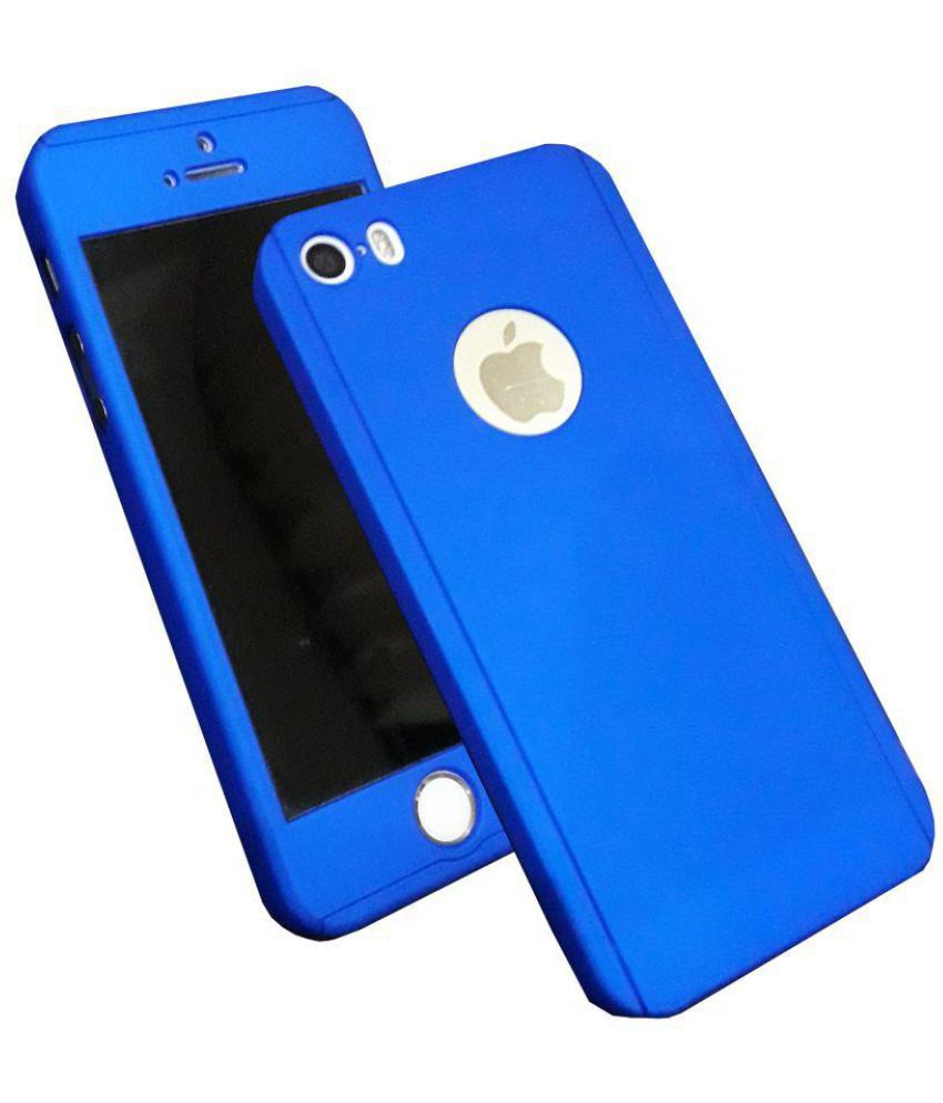 new arrival d3166 71963 Apple iPhone 5S Cover by Accworld - Blue - Plain Back Covers Online ...