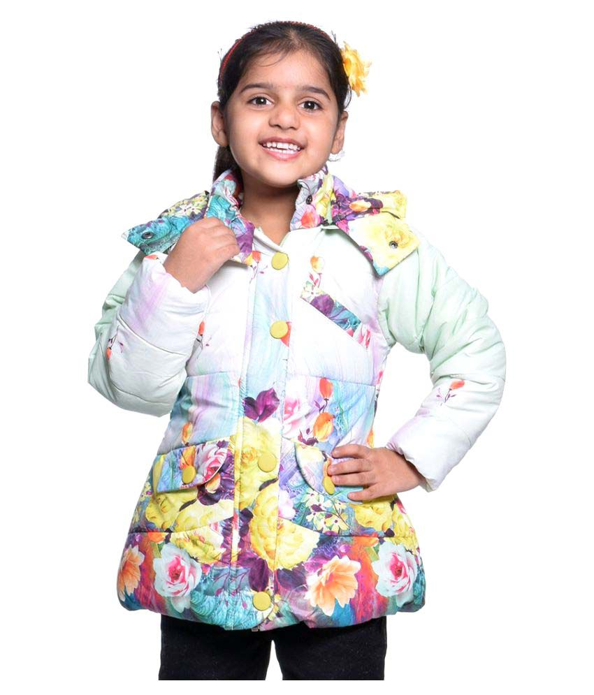 Come In Kids Multicolour Polyester Jacket