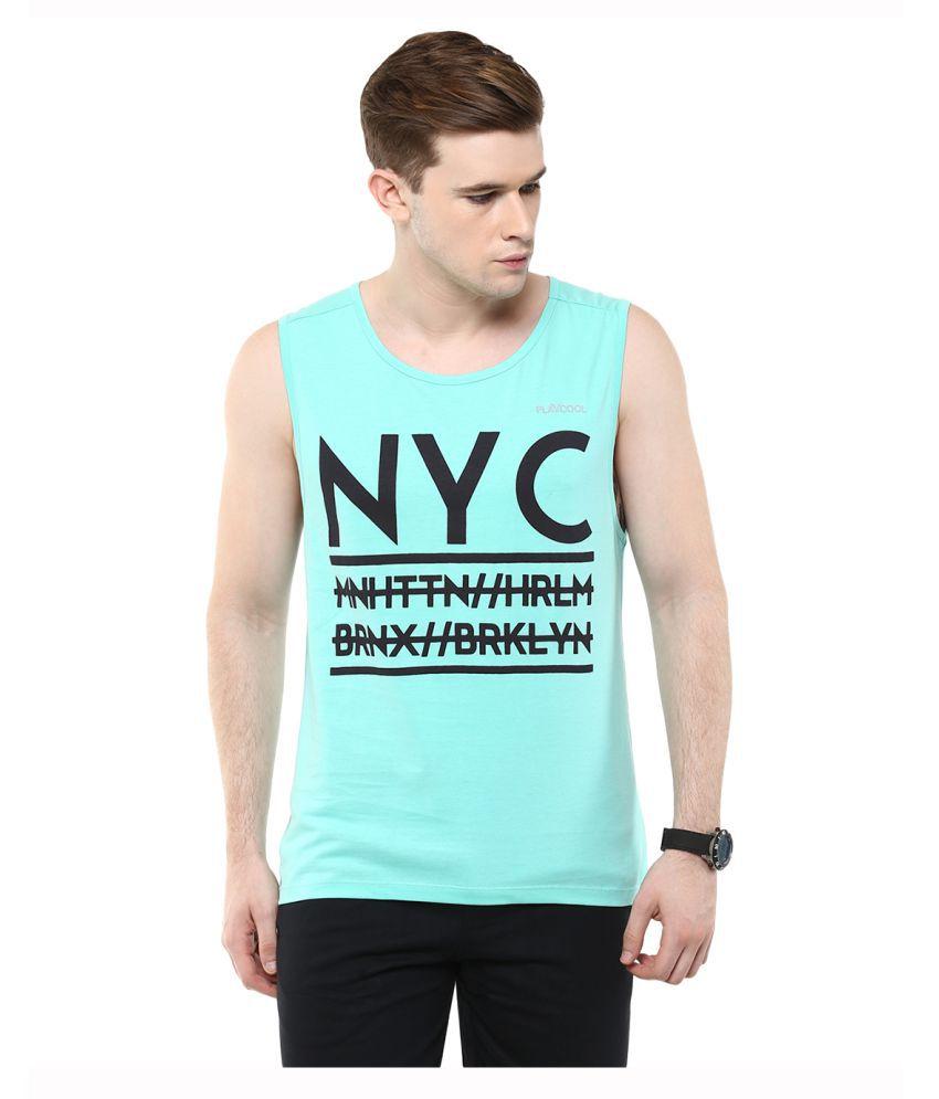 Yepme Turquoise Round T-Shirt