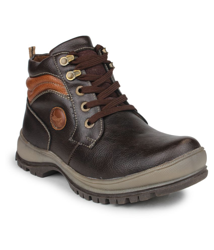 Pede Milan Brown Casual Boot