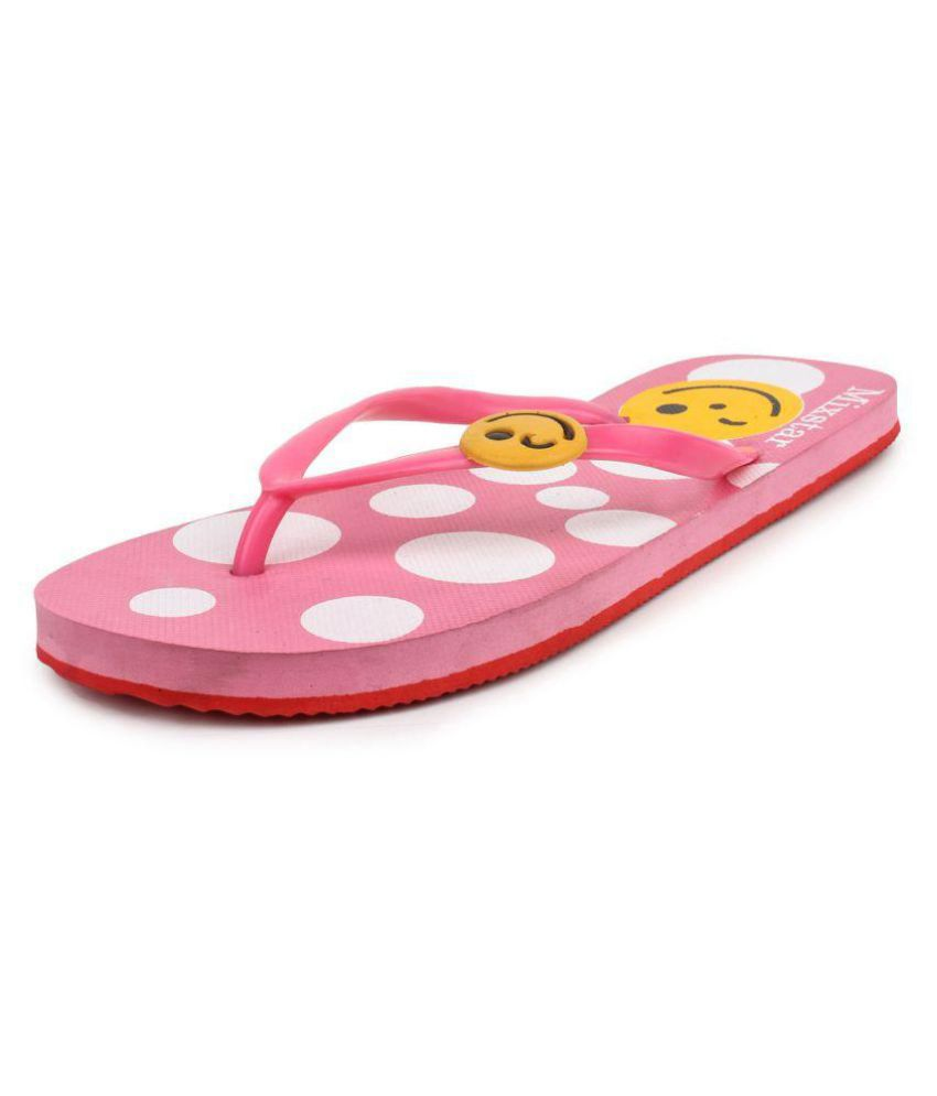 Amatra Pink Slippers
