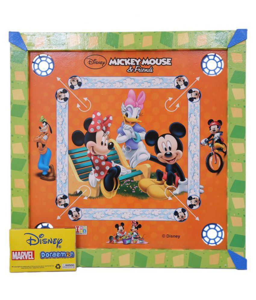 Disney - Mickey Mouse Multicolor Carrom