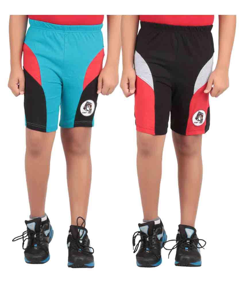 Knit ABC Multi Shorts
