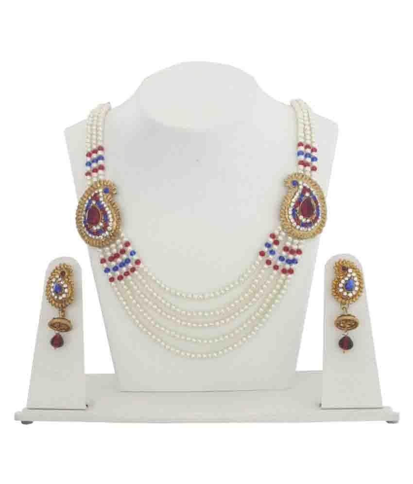 Styylo Fashion Multi Coloralloy Necklaces Set