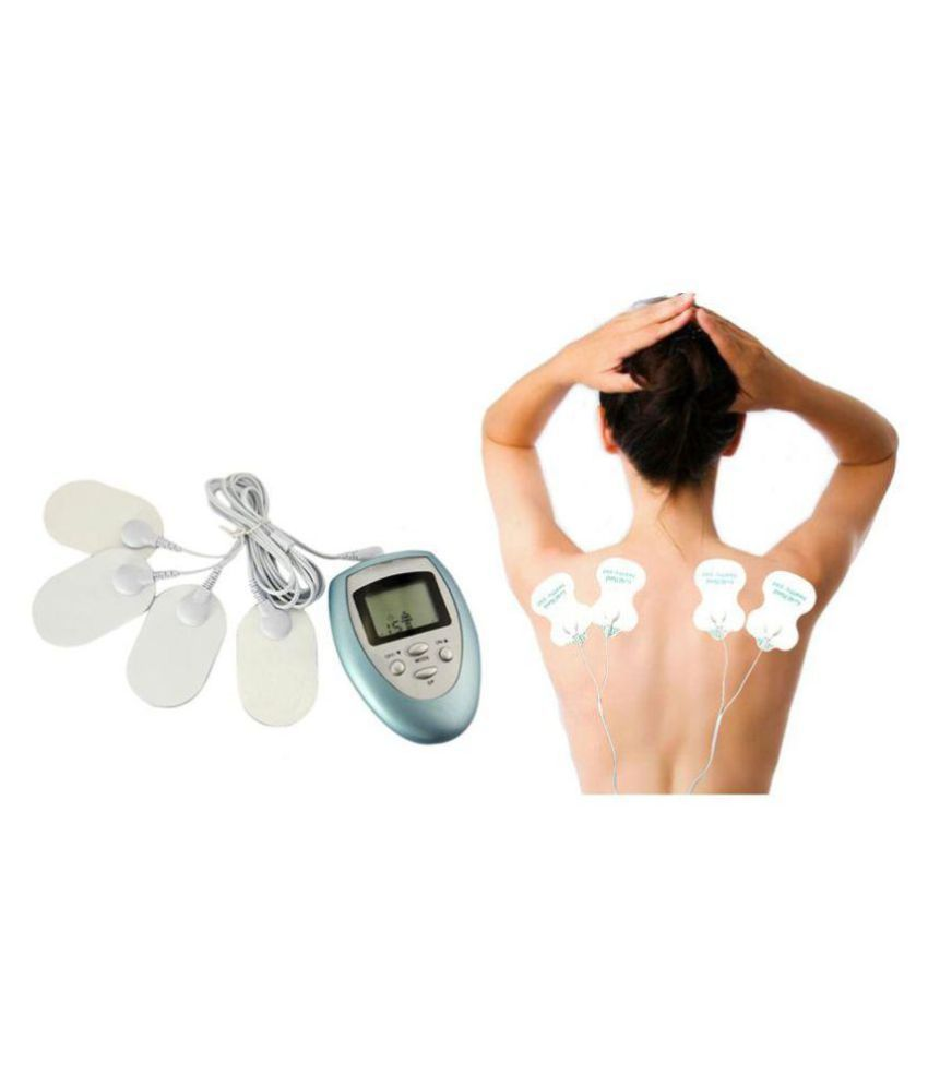 BM 4 in 1 Digital Therapy Body Massager Muscle Stimulator Acupuncture Electric Massager