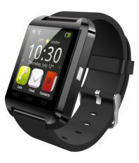 Uflux Black Smart Watches With Call Function