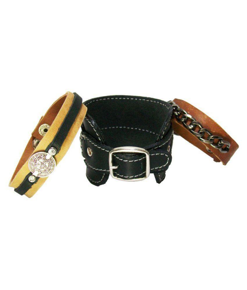 Sakhi Styles Multicolour Bracelet - Set of 3