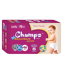 Champs High Absorbent Pant Extra Large(46 Pieces)