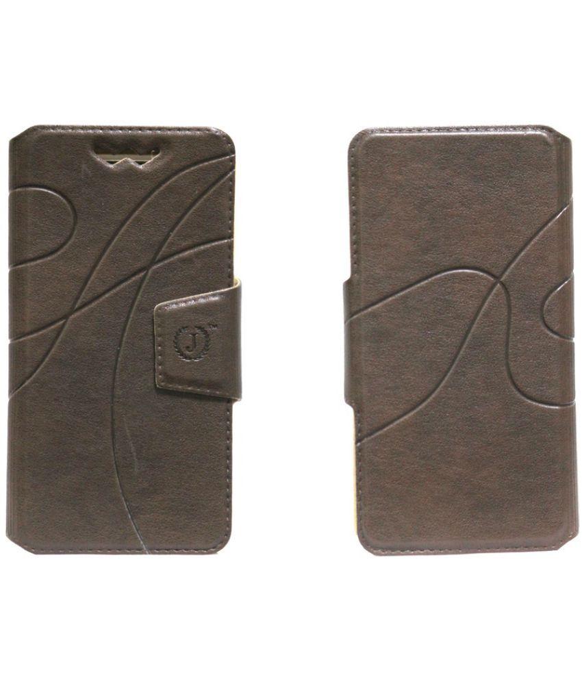 Xiaomi Redmi Flip Cover by Jojo - Brown