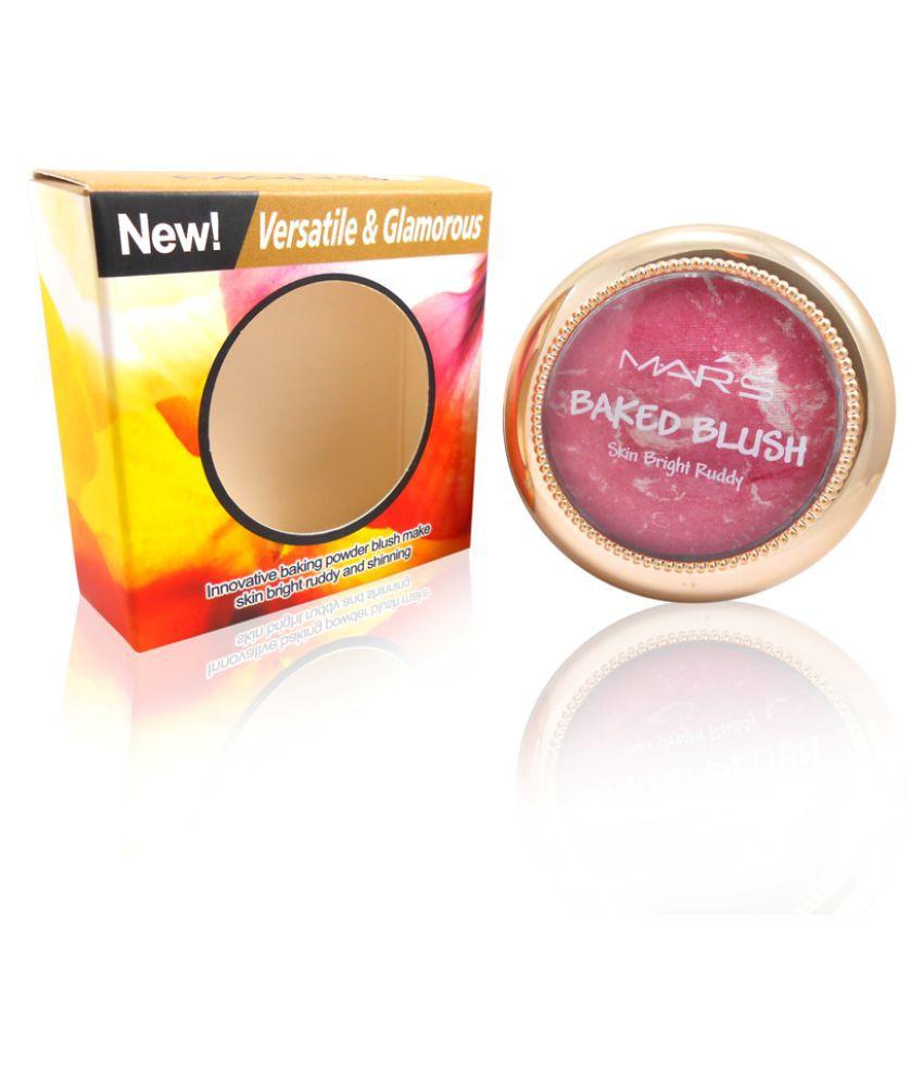 Mars Good Choice Free Kajal With  Pressed Powder Blush Pink 8 gm