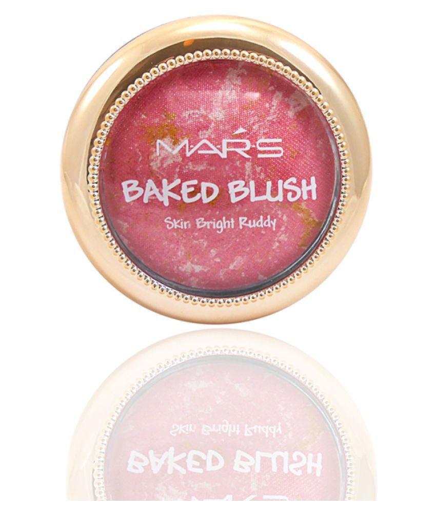 Mars Good Choice Free Kajal With  Pressed Powder Blush Rose Pink 50 g