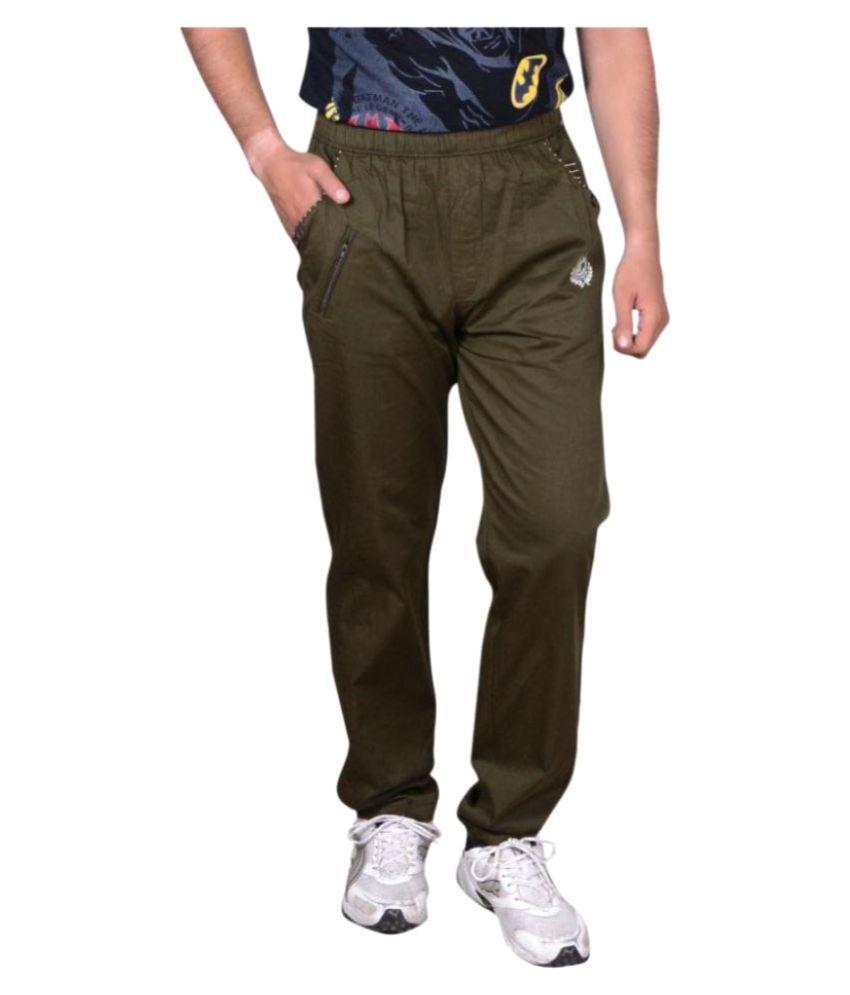 GDS Green Regular Flat Trouser