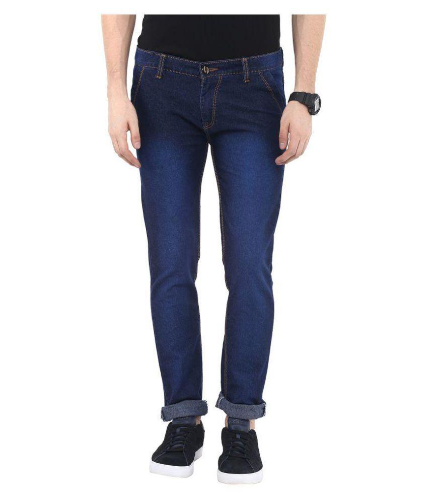 Urbano Fashion Blue Slim Faded