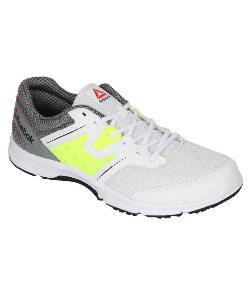 Reebok Carthage Run White Running Shoes