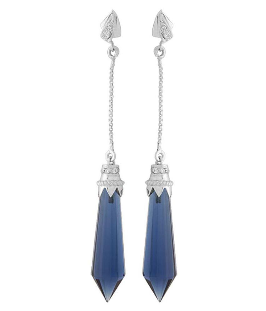 Voylla 92.5 Silver Quartz Hangings