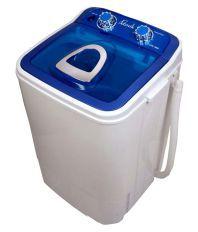Lonik Upto 6 Kg LTPL-4060-B Semi Automatic Semi Automatic Top Load Washing Machine Blue & White