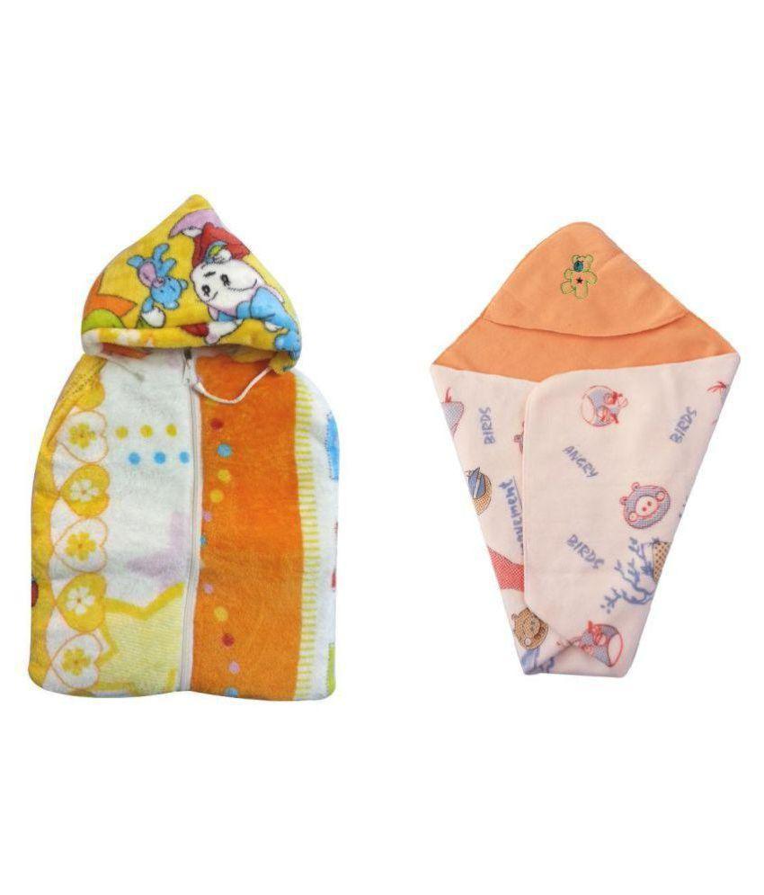 Aaaao Baby Multicolour Sleeping Bag - Combo of 2