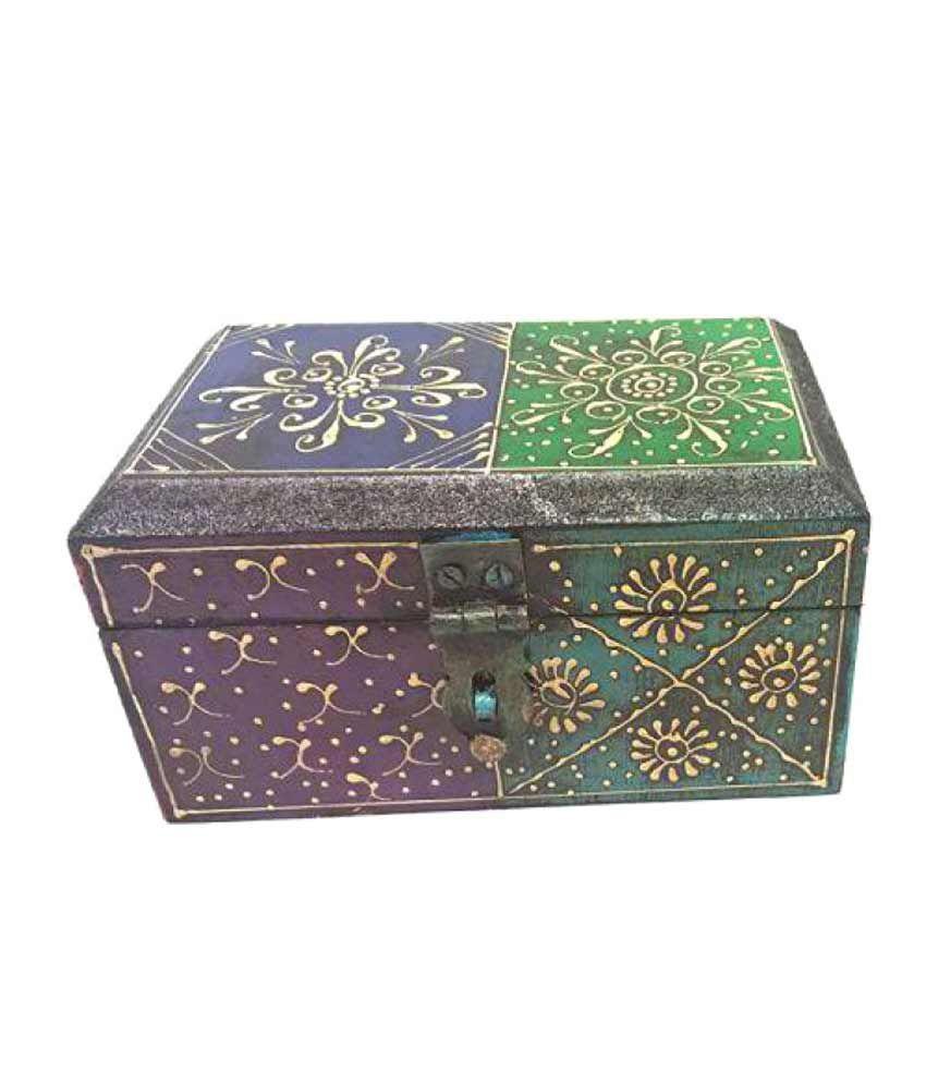 MohanJodero Multicolour Jewellery Box