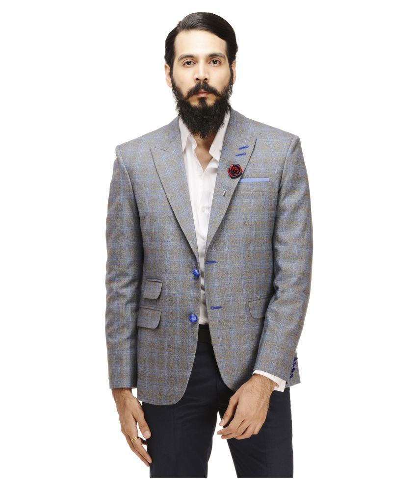 Monteil & Munero Multi Checks Casual Blazers