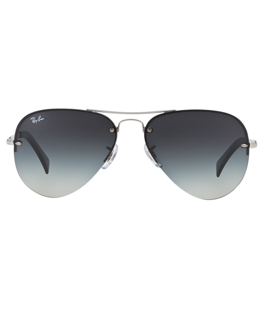 ccf0a1abc6c39 Ray-Ban Grey Aviator Sunglasses (RB3449 003 8G 59-14) - Buy Ray-Ban ...