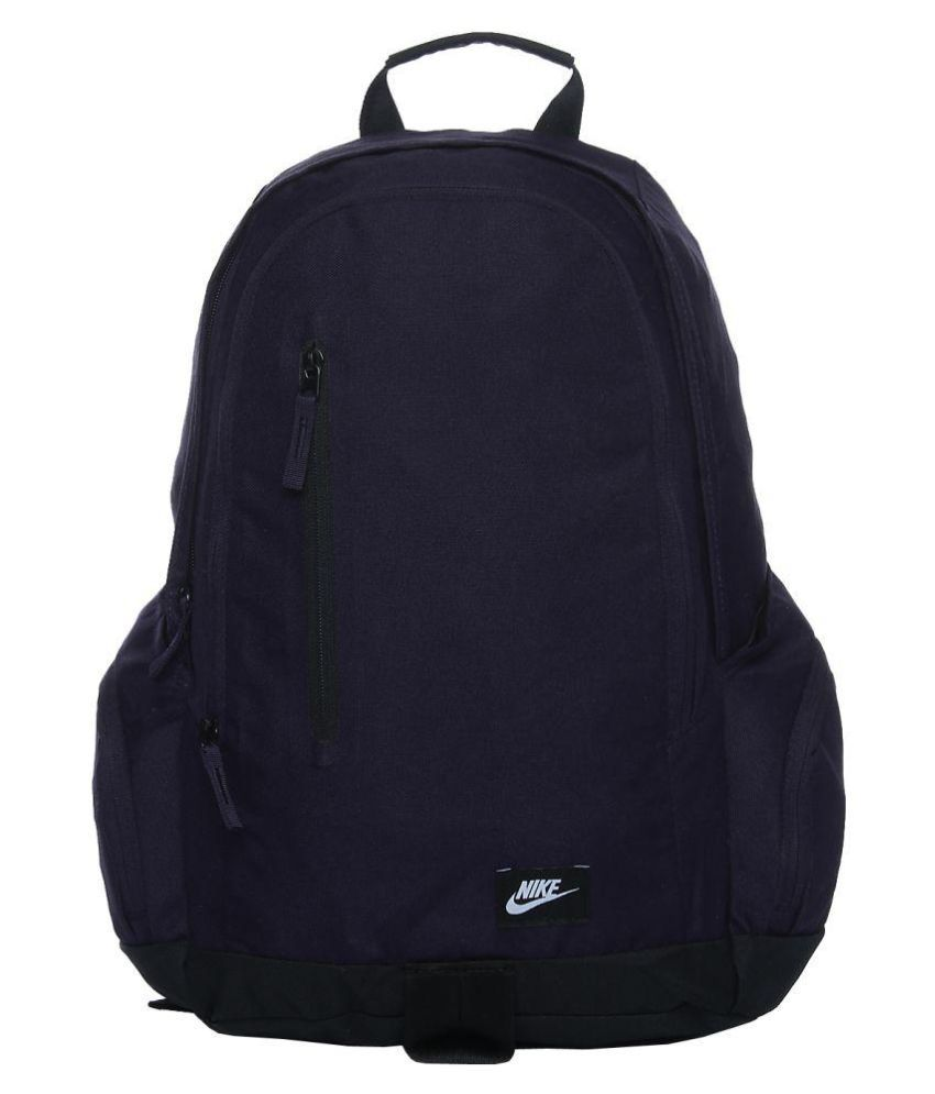 nike navy backpack