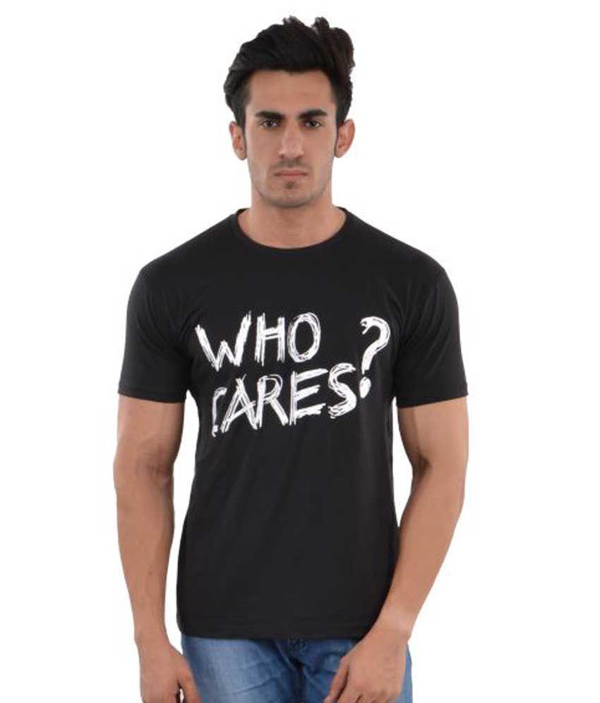 Brumester Black Round T-Shirt