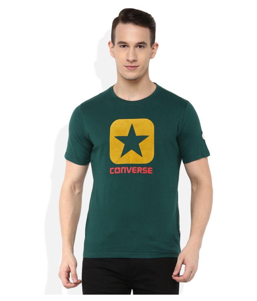 Converse Green Round T-Shirt