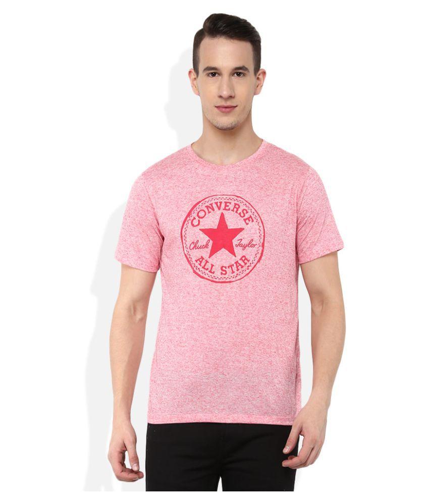 Converse Pink Round T-Shirt