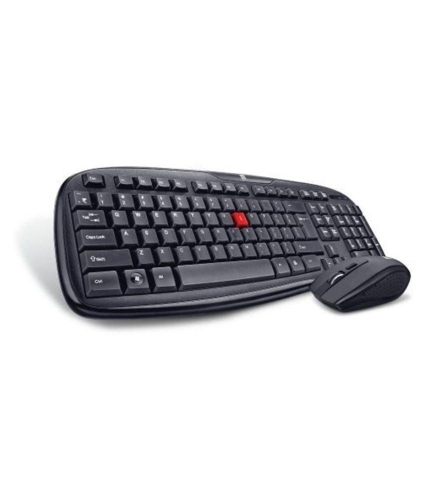 iBall duskyduo 06 Black Wireless Keyboard Mouse Combo Keyboard