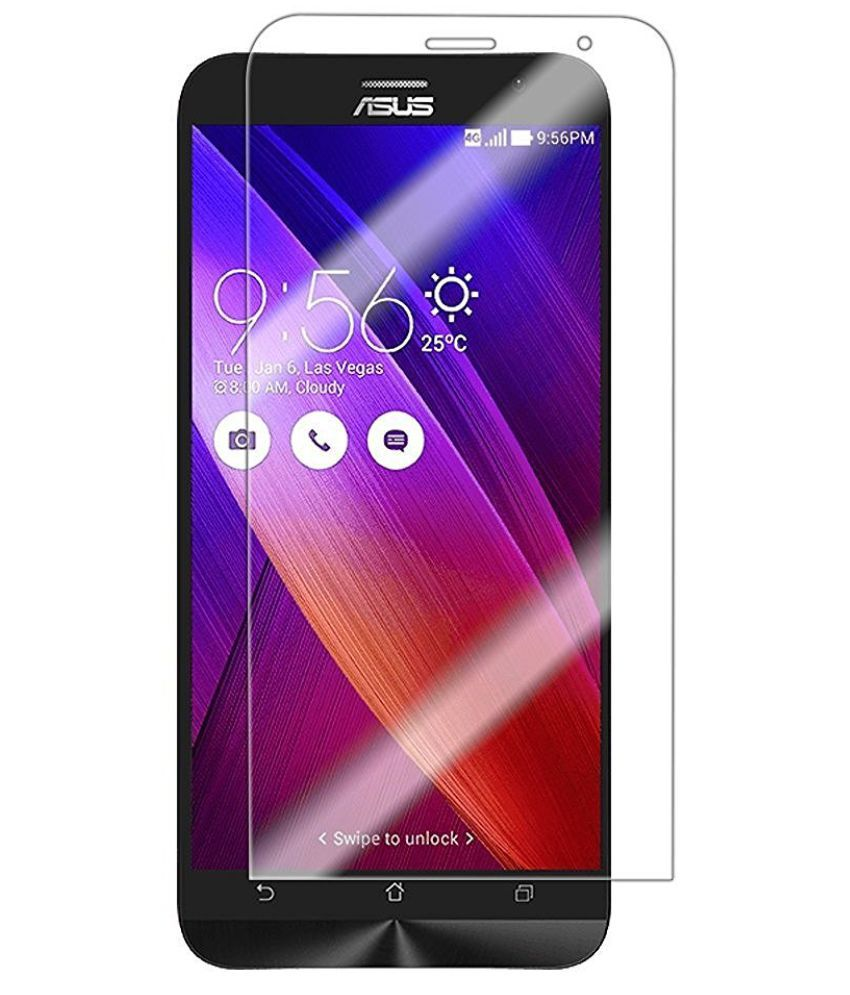 Asus Zenfone 2 Deluxe Tempered Glass Screen Guard By Hook
