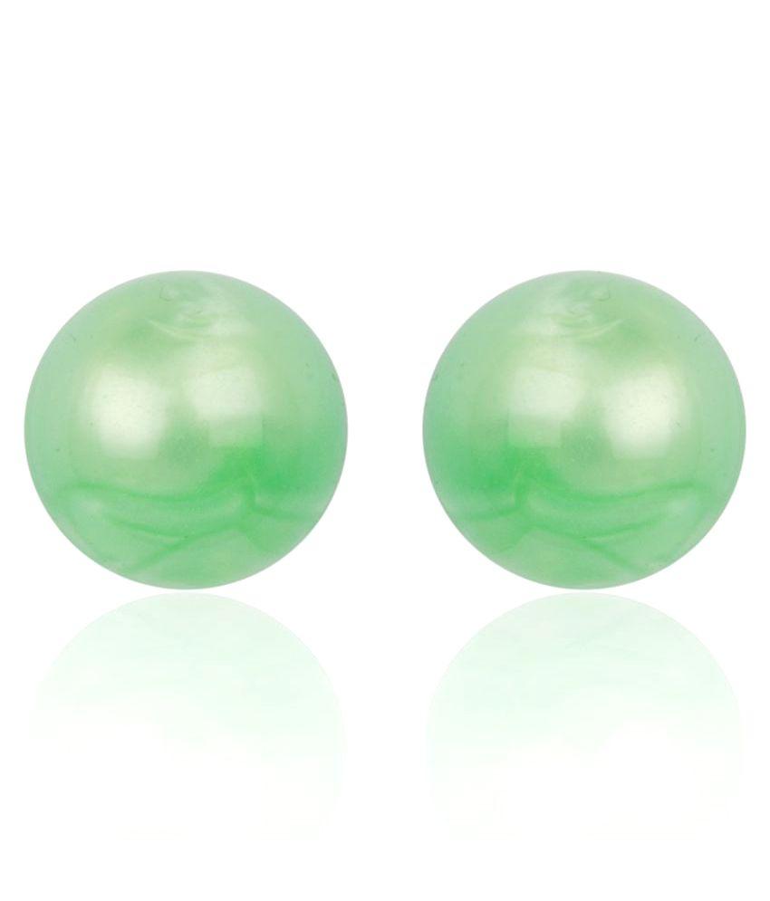 Diva Walk green alloy  earring