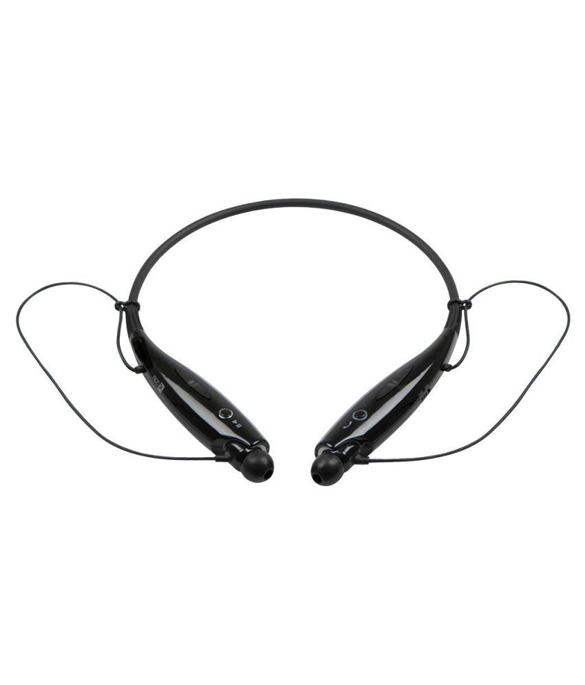 Jiyanshi Micromax Knight A350 Wireless Bluetooth Headphone Black