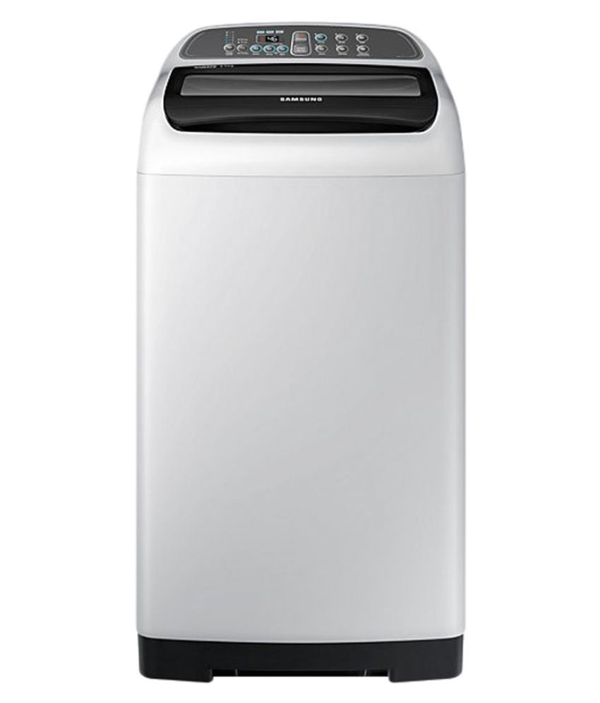 Samsung 6.5 WA65K4200HA Fully Automatic Fully Automatic Top Load Washing Machine Light Grey