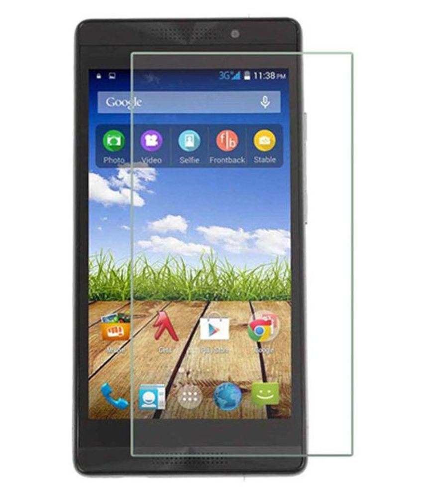 Micromax Canvas Fire 4G Plus Q412 Tempered Glass Screen Guard By Crook