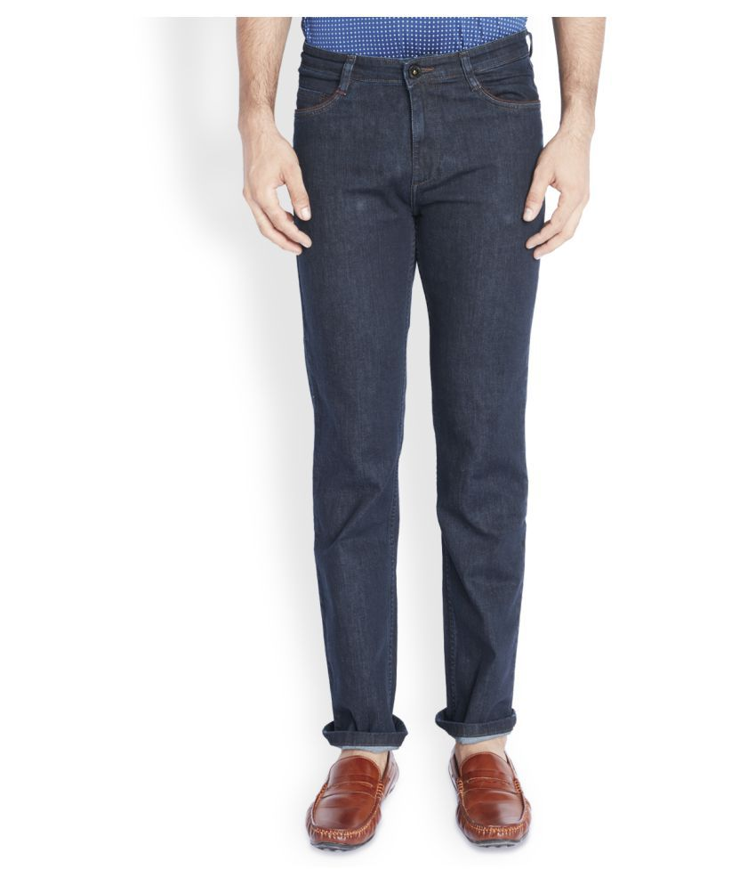 Raymond Blue Regular Fit Solid