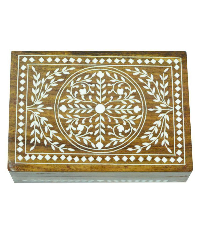 ARZ Brown Jewellery Box
