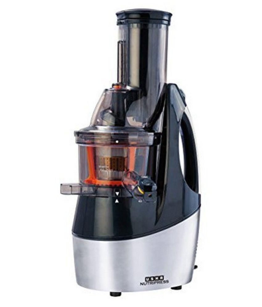 Slow Juicer Courts : Usha CPJ362F Slow Juicer Black Price in India - Buy Usha CPJ362F Slow Juicer Black Online on ...