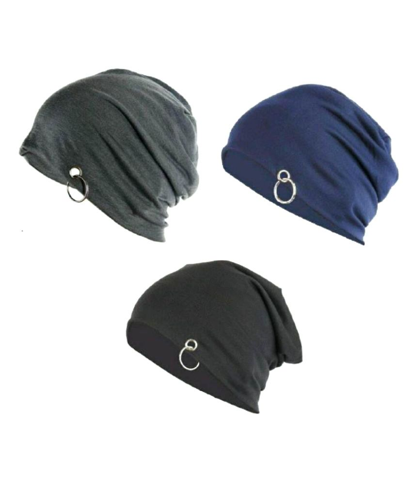 FAS Multi Plain ( Winter   Woollen Cap ) - Buy Online   Rs.  fa41eedcc82