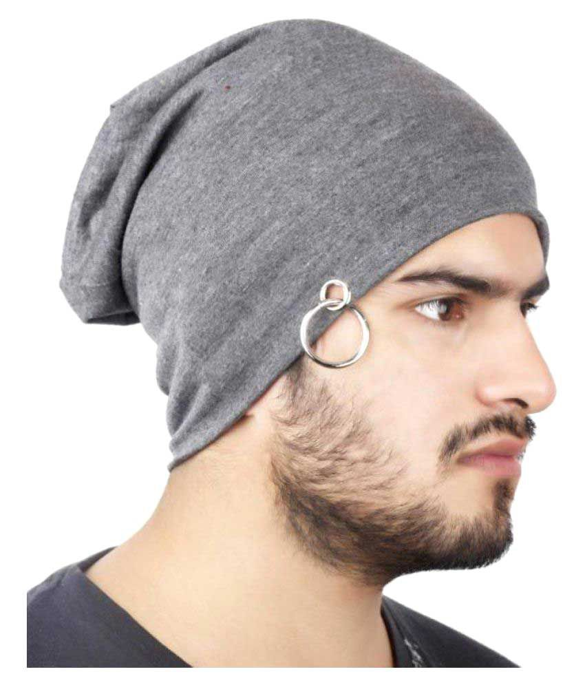 FAS Grey Cotton Skull Cap - Buy Online   Rs.  ef762a0a093